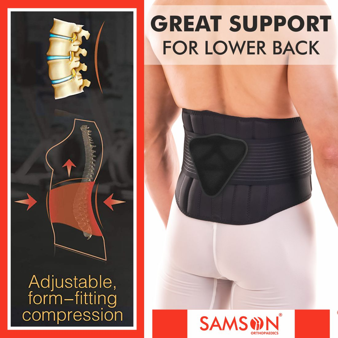 BACK SPINAL SUPPORT